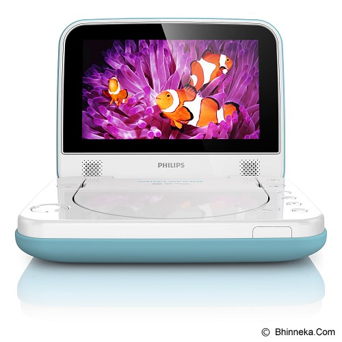 PHILIPS DVD Portable [PD7006B] - Blue - Dvd and Blu-Ray Player